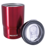 Koozie® Stainless Steel Insulated Triple Can Cooler 12 oz red top