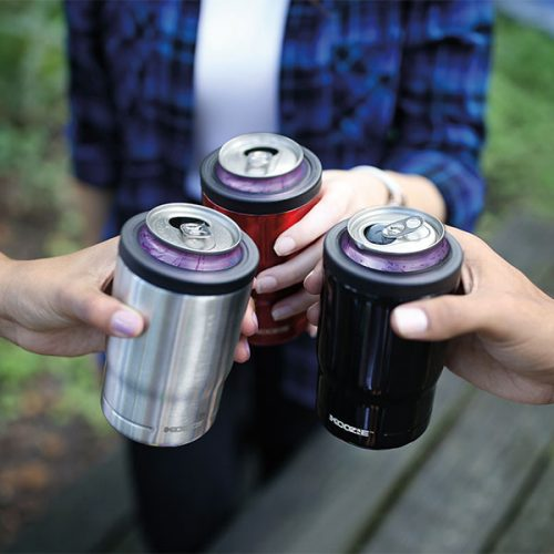 Koozie® Stainless Steel Insulated Triple Can Cooler 12 oz group lifestyle