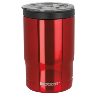 Koozie® Stainless Steel Insulated Triple Can Cooler 12 oz Red