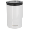 Koozie® Stainless Steel Insulated Triple Can Cooler 12 oz White with lid