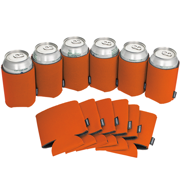 Koozie® Can Cooler Blank Foam Burnt Orange