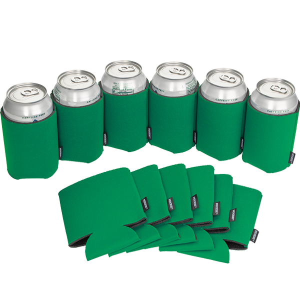 Koozie® Can Cooler Blank Foam Green