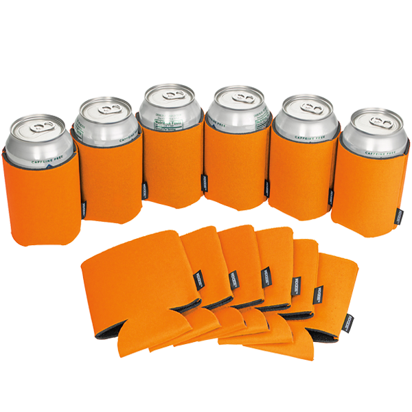 Koozie® Can Cooler Blank Foam Bright Orange