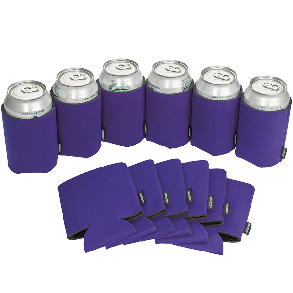 Koozie® Can Cooler Blank Foam Purple