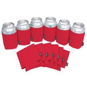 KOOZIE® Can Cooler Blank Neoprene Red