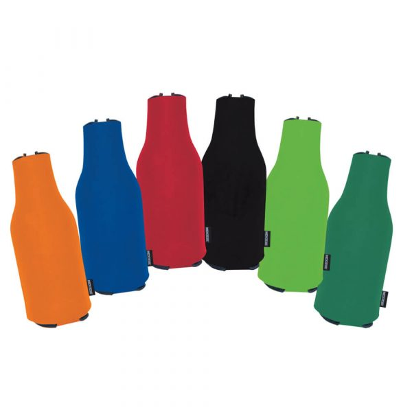 Koozie® Foam Zip-Up Bottle Cooler - Assorted