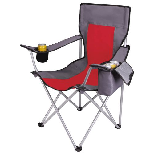 Koozie® Camp Chair - Red - 26248