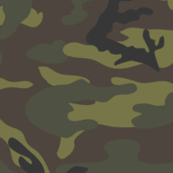 Color Tiles - Camo Hunter Green