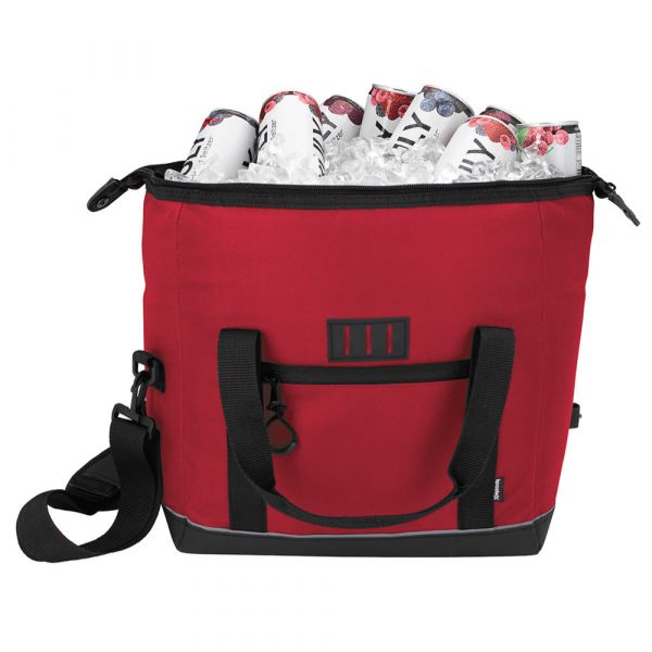 Koozie® Rogue 12 Can Insulated Cooler Bag - Red - 16126