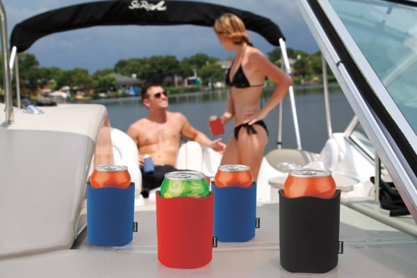 Koozie® Fancy Edge Can Cooler - Pack of 10 - Assorted - 46383